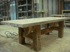 heavy beam table