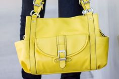 Addison Concealed Carry Purse in Lemon