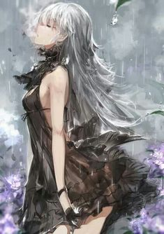 Read Anime girl: white hair from the story Mei's Gallery by (Lãnh Hàn Khả) with 97 reads. Manga Anime, Comic Manga, Art Anime, Anime Artwork, Anime Girls, Manga Girl, Beautiful Anime Girl, I Love Anime, Mahou Sensou