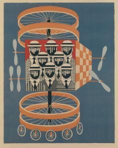 Γαϊτης Γιάννης – Giannis Gaitis [1923-1984]   paletaart - Χρώμα & Φώς Artist Art, Greek, Chandelier, Ceiling Lights, Artists, Home Decor, Candelabra, Decoration Home, Room Decor
