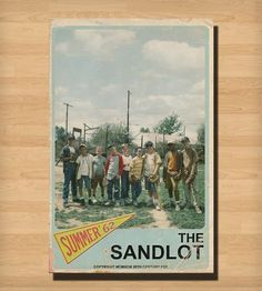 Sandlot Movie Poster | Art Prints | Trevor Dunt Poster Design | Scoutmob Shoppe