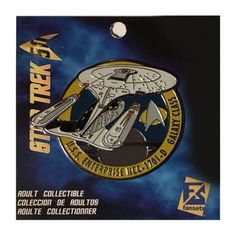 Star Trek Enterprise NCC-1701-D Pin Fansets Star Trek Pins