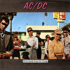 AC-DC - Dirty deeds done dirt cheap - 1976