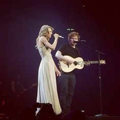Taylor and Ed singing I See Fire tonight in Berlin!