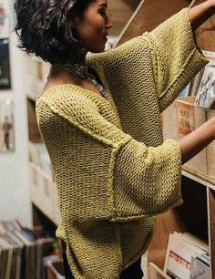 - Overseas # Overseas - Dresses for Work Knitting Designs, Knitting Patterns, Knit Fashion, Fashion Women, Style Fashion, Fashion Outfits, Fashion Design, Winter Sweaters, Sweater Coats