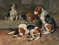 John Emms: Beagles - Fathers of the Pack