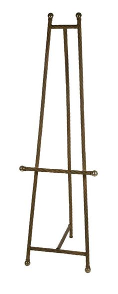 Amazoncom wrought iron floor easel