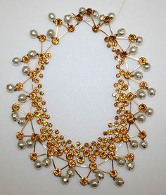 Jewelry Set  Date: early 1960s Culture: French Medium: glass, metal, plastic