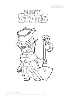 How To Draw Gene From Brawl Stars ★ Cute Easy Drawings