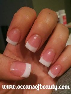 Dark Pink & White EZdip Gel Powder. DIY EZ Dip. No lamps needed, lasts 2-3 weeks! Salon Quality done right in your own home! For updates, customer pics, contests and much more please like us on Facebook https://www.facebook.com/EZ-DIP-NAILS-1523939111191370/ #ezdip #ezdipnails #diynails #naildesign #dippowder #gelnails #nailpolish #mani #manicure #dippowdernails