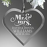 Make your home more festive this Christmas with the The Happy Couple Personalized Heart Ornament. Find the best personalized Christmas gifts at PersonalizationMall.com
