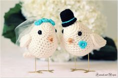 Just to have these cake toppers, I'd get married again!
