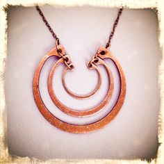 Snap Ring Necklace