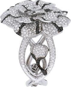 Chanel Diamond, Colored Diamond, White Gold Bracelet, HT