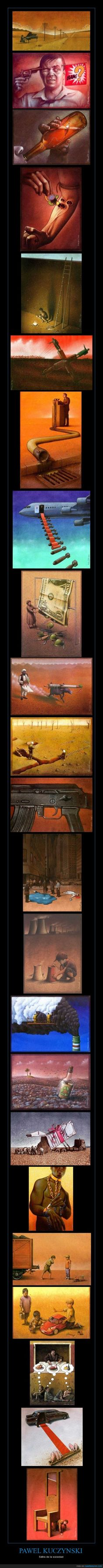 PAWEL KUCZYNSKI - Sátira de la sociedad
