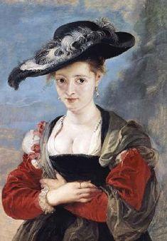 Peter Paul Rubens - Portrait of Susanna Lunden (?) (Le Chapeau de Paille)