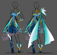 Clothing Double Set Adopt Auction [CLOSED] by JxW-SpiralofChaos on DeviantArt