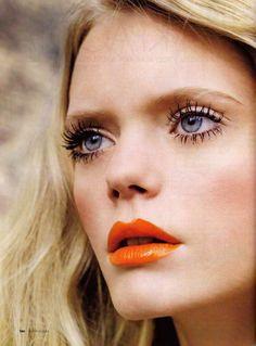 Mascara + Bright Lips Mascara + Bright Lips – Das schönste Make-up Eye Makeup, Beauty Makeup, Hair Makeup, Hair Beauty, Makeup Bags, Makeup Geek, Beauty Trends, Beauty Hacks, Spider Lashes