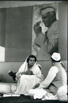 Henri Cartier-Bresson - Indira Gandhi 1966