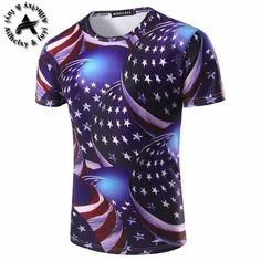 Men/boy T-shirt 3d fashion print  watching meteor shower Space galaxy