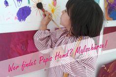 Malschürze aus einem Herrenhemd nähen - Video Sewing For Kids, Kids Wear, Sewing Tutorials, Kindergarten, Recycling, To My Daughter, Handmade, Crafts, Inspiration