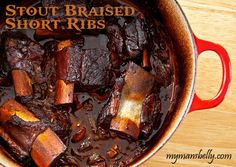 SHORT-RIB BEEF STEW WITH ALE | Recipes that WORK! - Tried and True ...