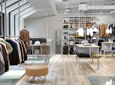 clothing stores interior design - Google Search