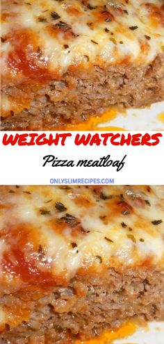 Ingredients: Meatloaf: 1 slice multigrain bread or whole wheat bread, toaste. - healthy and Easy Dinner Recipes - Meatloaf Skinny Recipes, Ww Recipes, Low Carb Recipes, Cooking Recipes, Healthy Recipes, Healthy Foods, Healthy Pizza, Diet Foods, Cooking Ideas