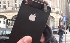 Watch what happens with this new Iphone5      Gadget geeks scrambled to Apple stores around the world Friday to get their hands on the iPhone 5. If you didn't dedicate yourself to standing in line at 2 a.m. (or do the smart thing and ord