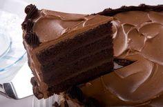 Bolo mousse aerado de chocolate (Sodie) - Receita                                                                                                                                                                                 Mais