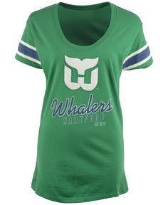 '47 Brand Women's Hartford Whalers Off-Campus Scoop T-Shirt