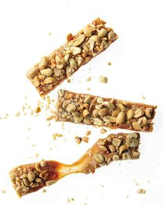 Salted Peanut Bars   Honest Payday Mini marshmallows give these salted peanut-caramel bars a satisfying stretch.