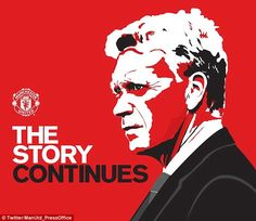 Life goes on: Manchester United released this poster of David Moyes today David Moyes, Germany Football, Soccer Art, Wayne Rooney, Manchester United Football, Professional Football, Life Goes On, Old Trafford, Great Team