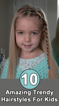10 Amazing Trendy Hairstyles For Kids