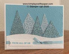 Stampin Up Christmas, Christmas Cards To Make, Christmas Snowflakes, Handmade Christmas, Holiday Cards, Simple Christmas, Christmas Trees, Christmas Catalogs, Winter Cards
