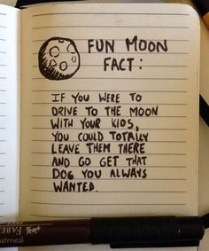 Fun Moon Fact