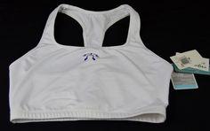 Marika Dry Wik Womens White Sports Bra XL New With Out Tags #marika #SportsBrasBraTops