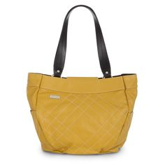 Flo - The Flo for Demi Bags is all about happiness, sunshine and fun! Rich goldenrod faux leather features bright white contrasting stitching in a fanciful criss-cross pattern. Side Pockets. Flo is for the fun-loving side in all of us when you're feeling footloose, fancy-free and ready for adventure. Don't be shy, get out there and shine! MB3136  Available for purchase: http://homepartyrep.com/nathalie_bondy   Find me on Facebook @ www.facebook.com/NeverSwitchPurses