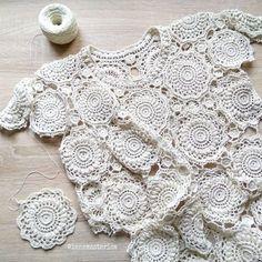 Ivory Beaded Lace Trim Pearl Beaded Trim 1 Yard For Costume Wedding Dress Belt Brial Sash Jewelry Design Irish Crochet, Crochet Motif, Crochet Lace, Crochet Stitches, Crochet Patterns, Beaded Trim, Beaded Lace, Flower Chart, Macrame Dress