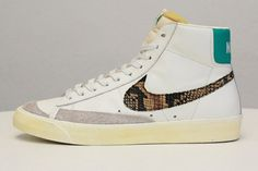 Nike Blazer Mid 77-Snakeskin #sneakers #kicks