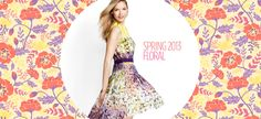 Florals: Skirts, Dresses & Accessories