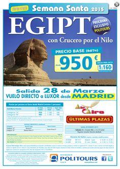 "EGIPTO con Cr. por el NILO (exclusivo Politours)""S. Santa""sal. 28/03 dsd Mad(8d/7n) p. f. dsd 1.160€ ultimo minuto - http://zocotours.com/egipto-con-cr-por-el-nilo-exclusivo-politourss-santasal-2803-dsd-mad8d7n-p-f-dsd-1-160e-ultimo-minuto/"