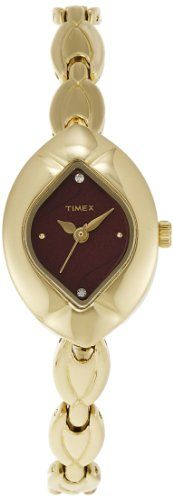 Timex Analog Red Dial Womens Watch  TI000R10100 * Continue to the product at the image link.
