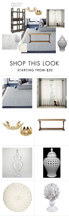 Anne Living Room by adiedlen on Polyvore featuring interior, interiors, interior design, home, home decor, interior decorating, Cost Plus World Market, Home Decorators Collection, Urban Outfitters and CB2