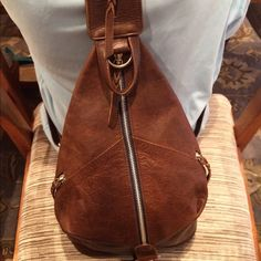 Purse backpack style leather and fabric backpack purse, like new condition Mo&Co bags Bags Backpacks