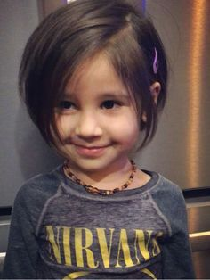 little girl pixie cropped bob haircut - Google Search