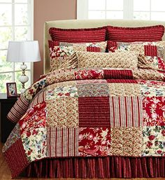 Be-you-tiful French Country Marie Quilt Set, Twin with 1 ...