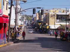 Streets of Montego Bay, Jamaica