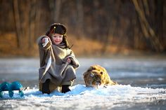 30 Magical Photos Of Children Playing Around The World - Russia | Bored Panda