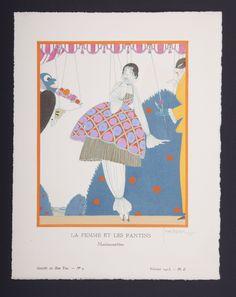 Goldstein Museum of Design: Blog: Art, Fashion & Frivolities: La Gazette du Bon Ton